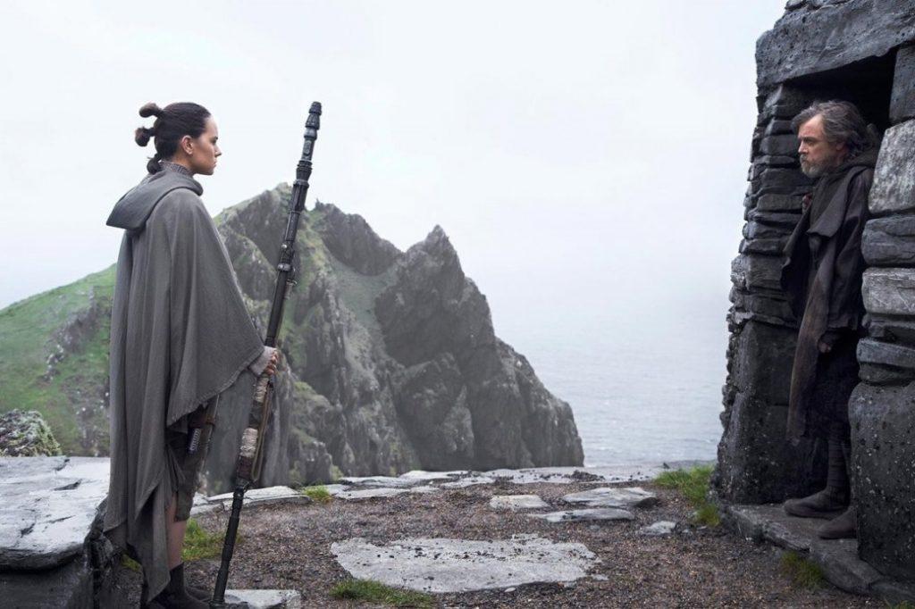 Кадр из Звездные войны Последние джедаи