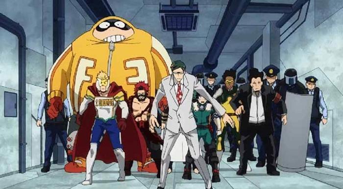 Моя геройская академия 6 сезон фото