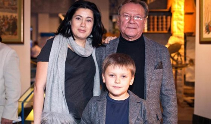 Сергей Шакуров с женой