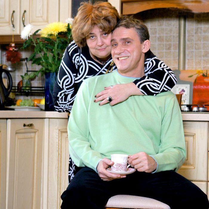 Валерий Гаркалин с женой