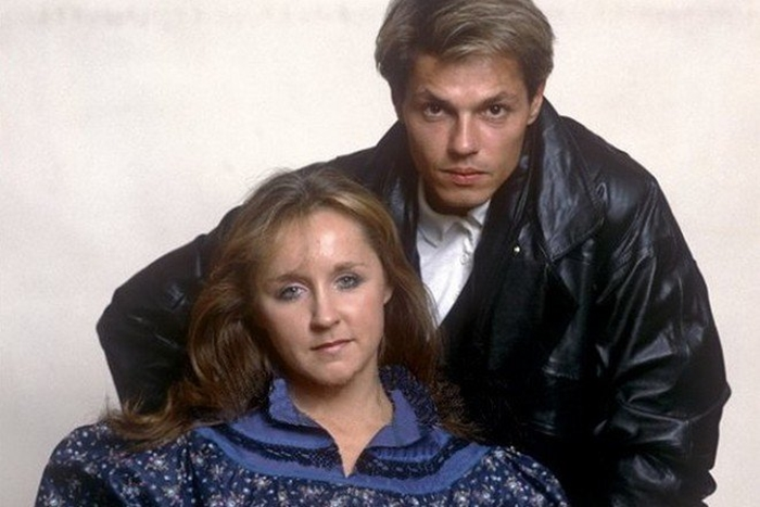 Игорь Скляр с женой