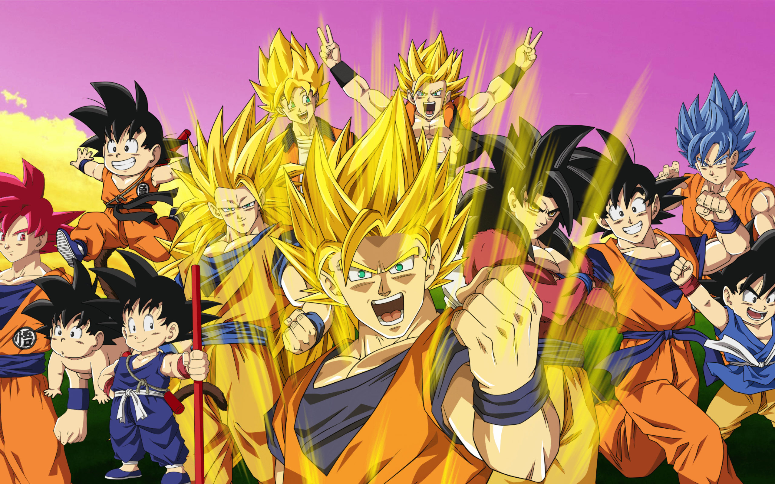 4k-son-goku-all-characters-dbz-dragon-ball-super